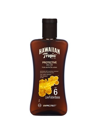 Protective Dry Spray Oil Yağ Spf6 200Ml-Hawaiian Tropic